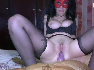 Amateur Dog porn Dick-sucking