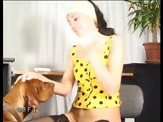 Amateur Dog porn Anal