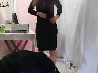 Amateur Dog porn Slut 22