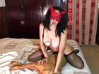 Amateur Dog porn Banged 018